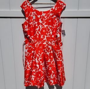 Bright party dress